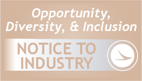 Image of Notice to Industry: New Webpage for DBE and EDGE Forms and Resources