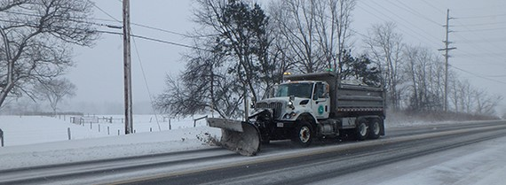 Image of Snow on Christmas, Snow Problem for ODOT