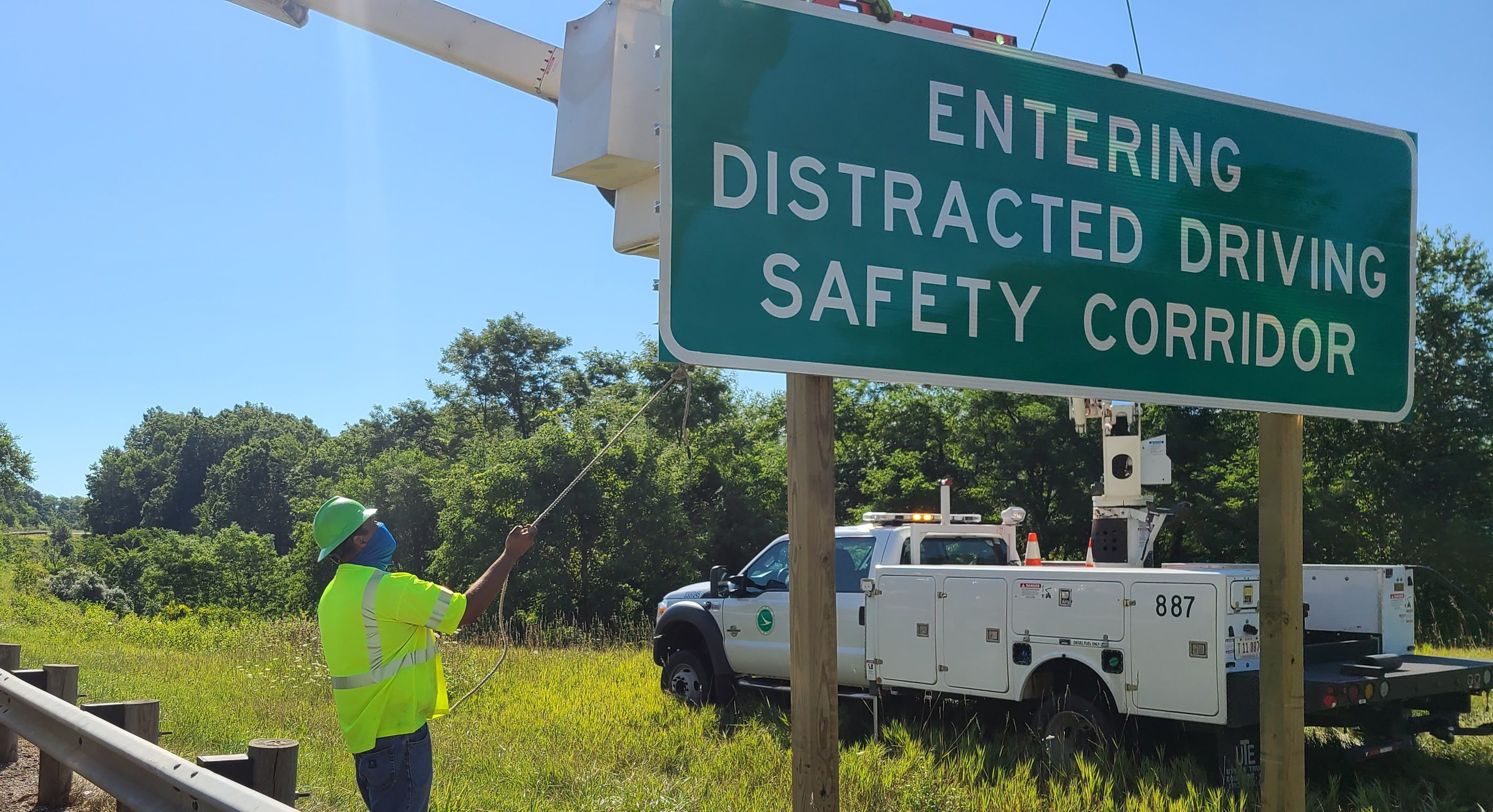 Image of Ohio State Highway Patrol & ODOT announce distracted driving safety corridor