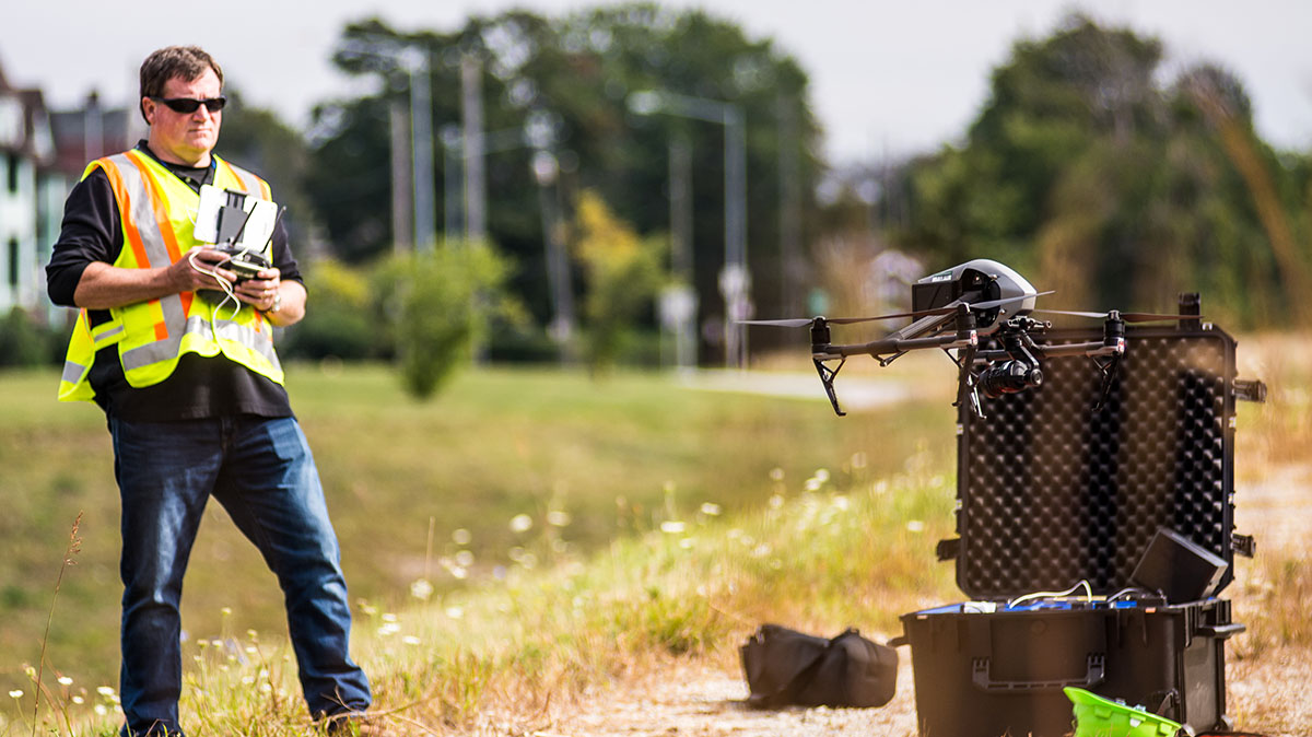 Image of ODOT offering free online Unmanned Aircraft Systems knowledge courses