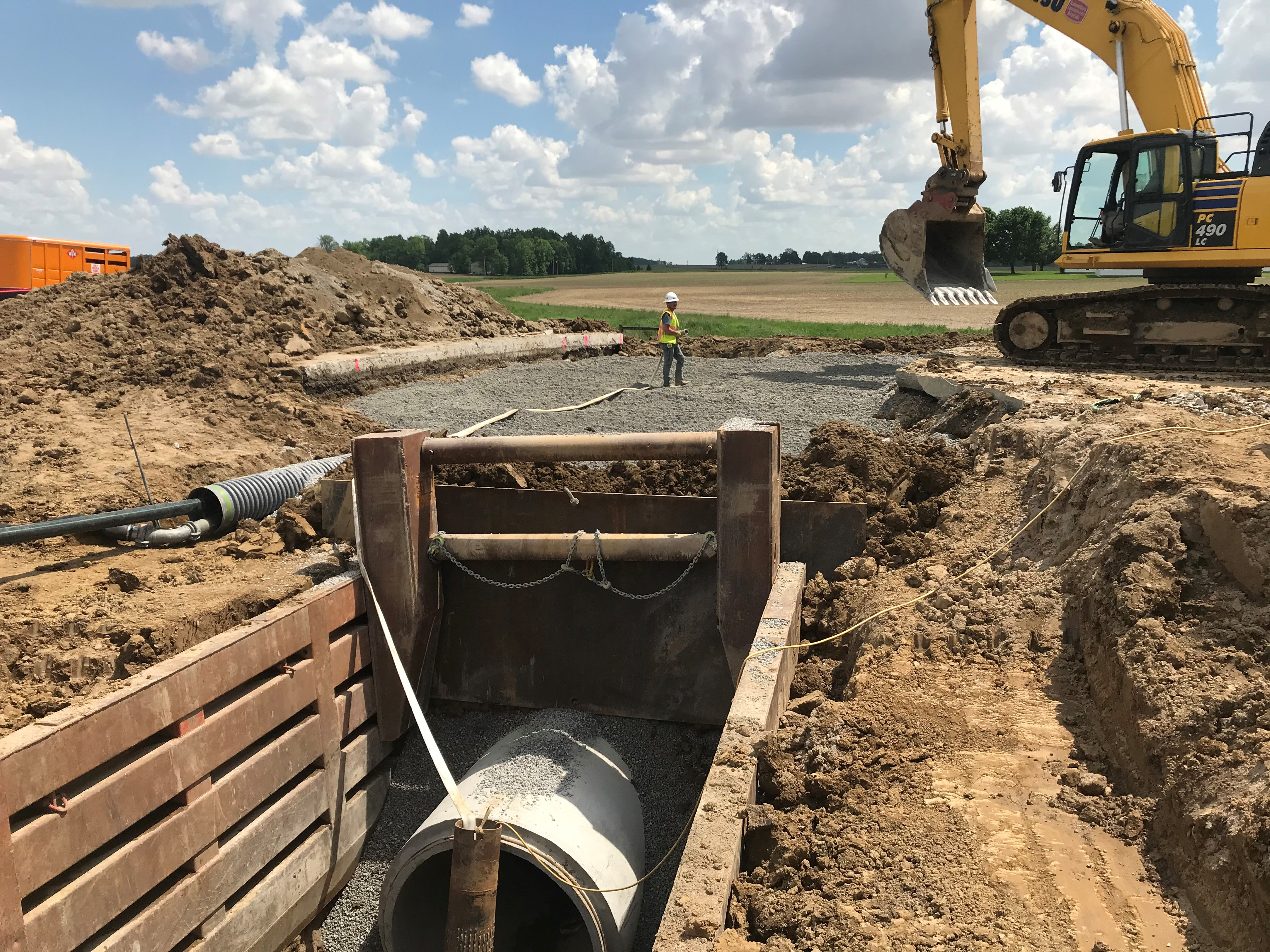 Image of U.S.30 westbound to close for emergency culvert replacement