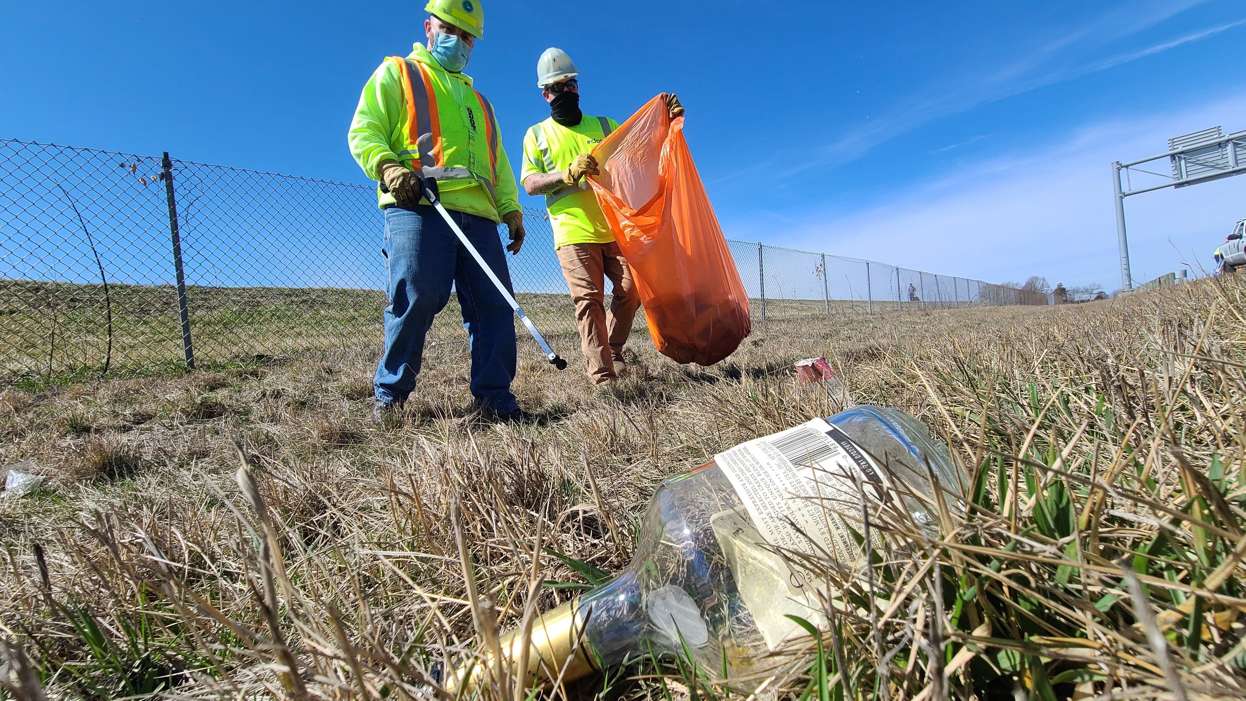 ODOT asking the public to help with litter problem
