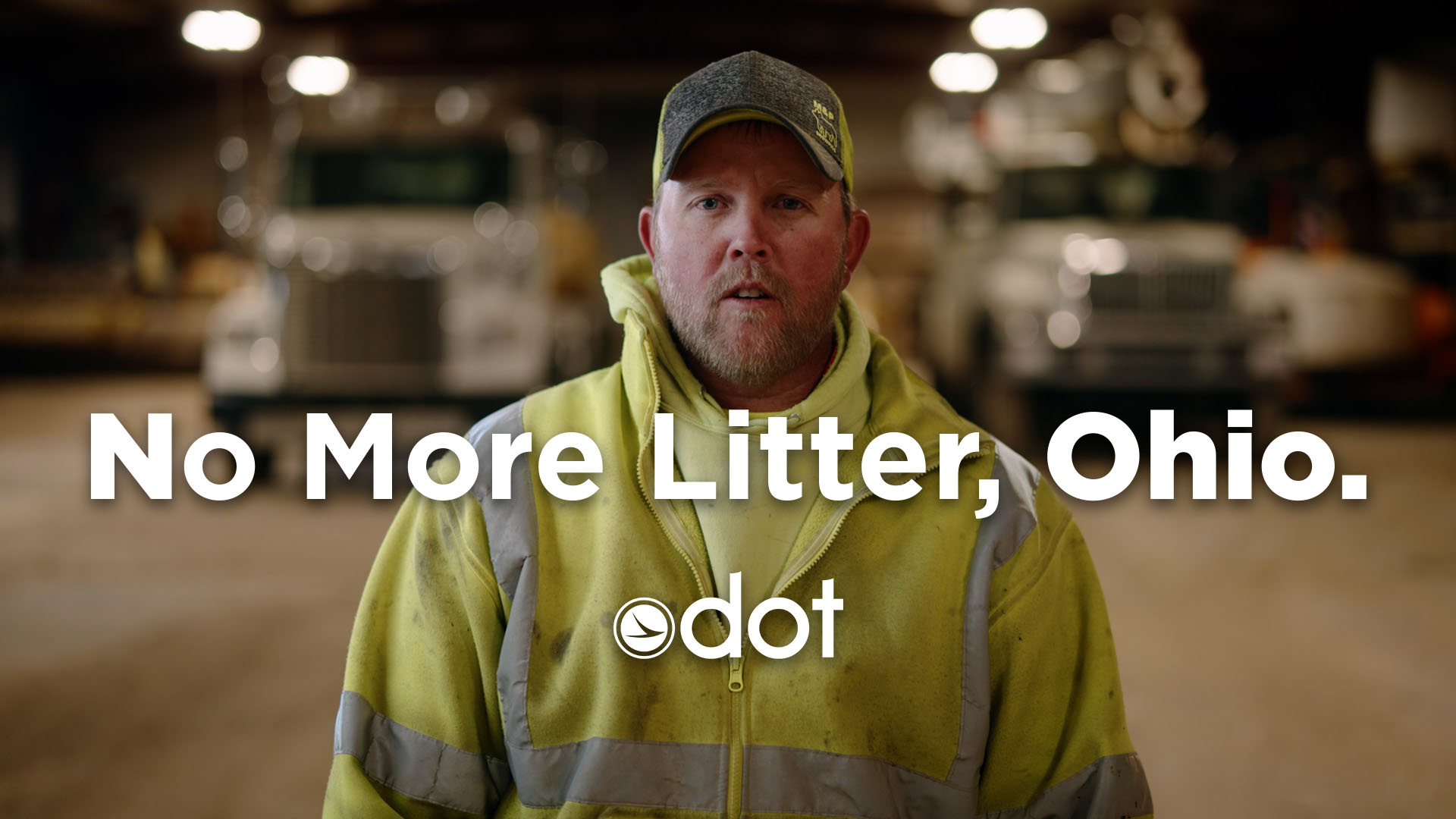 Image of ODOT asking the public to help with litter problem