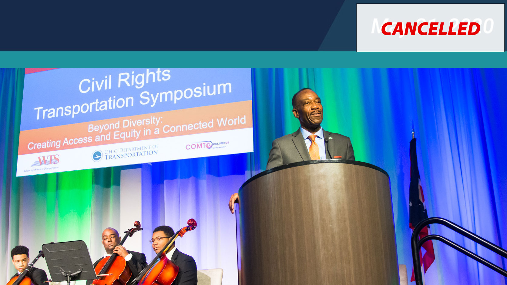 Ohio's Civil Rights Transportation Symposium - CANCELLED!