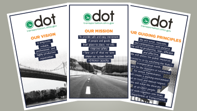 ODOT Mission, Vision, and Guiding Principles Posters